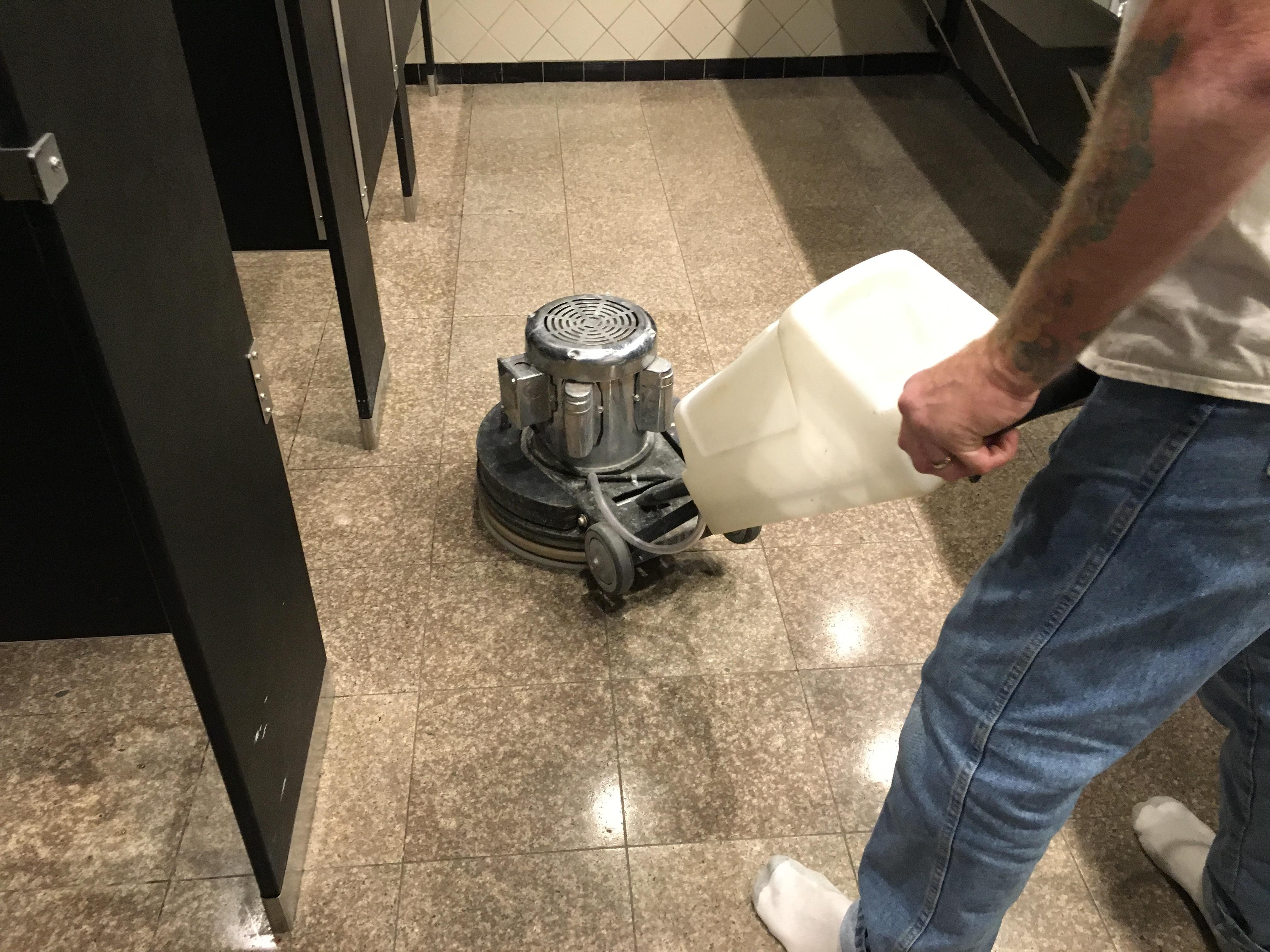 Chicago Granite Floor Polishing