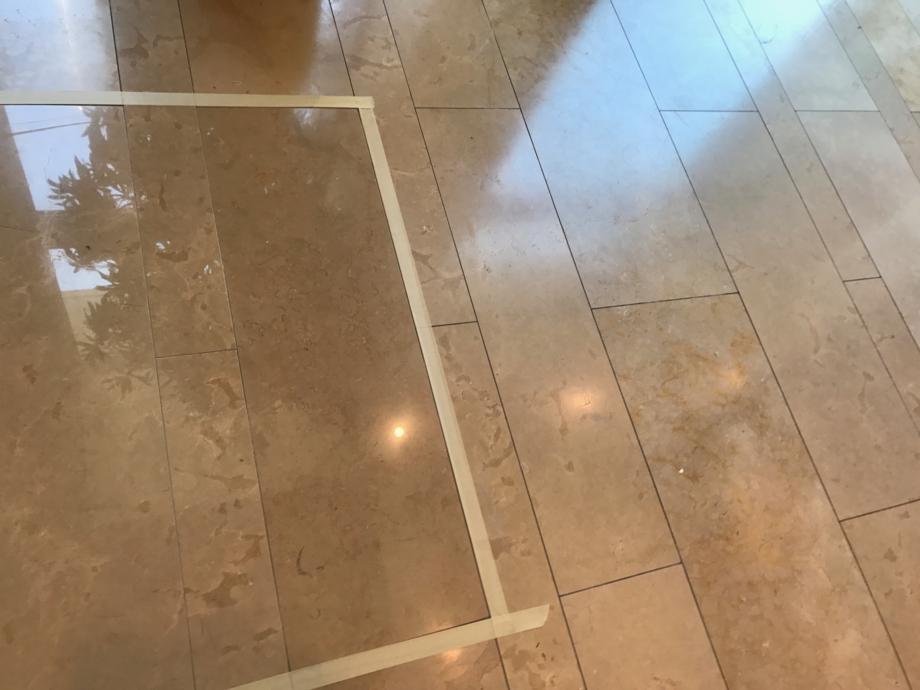 Chicago Limestone Floor Polishing