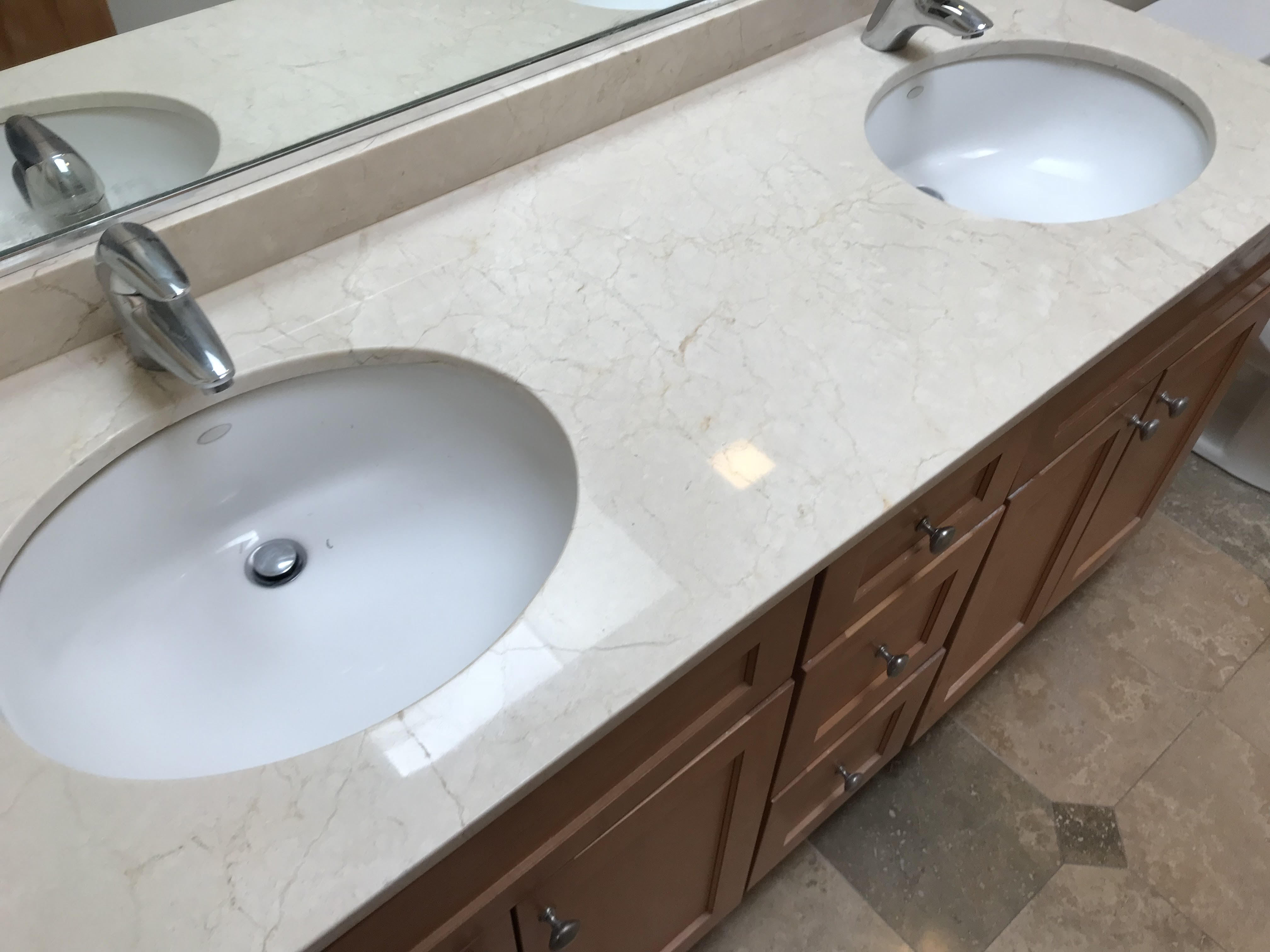 Marble Crack Repair Service in Lincoln, Park IL