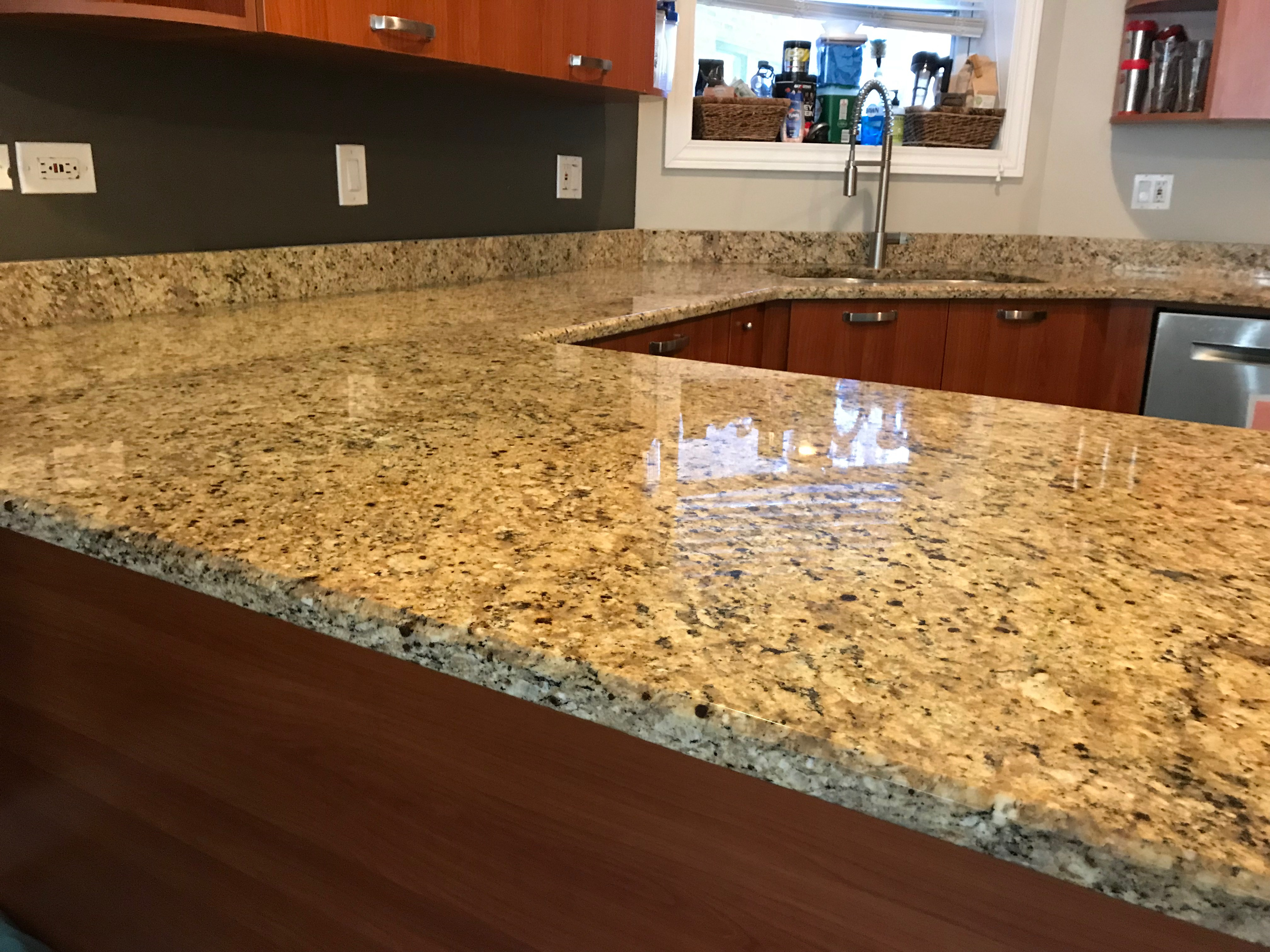 Wicker Park Granite Countertop Polishing