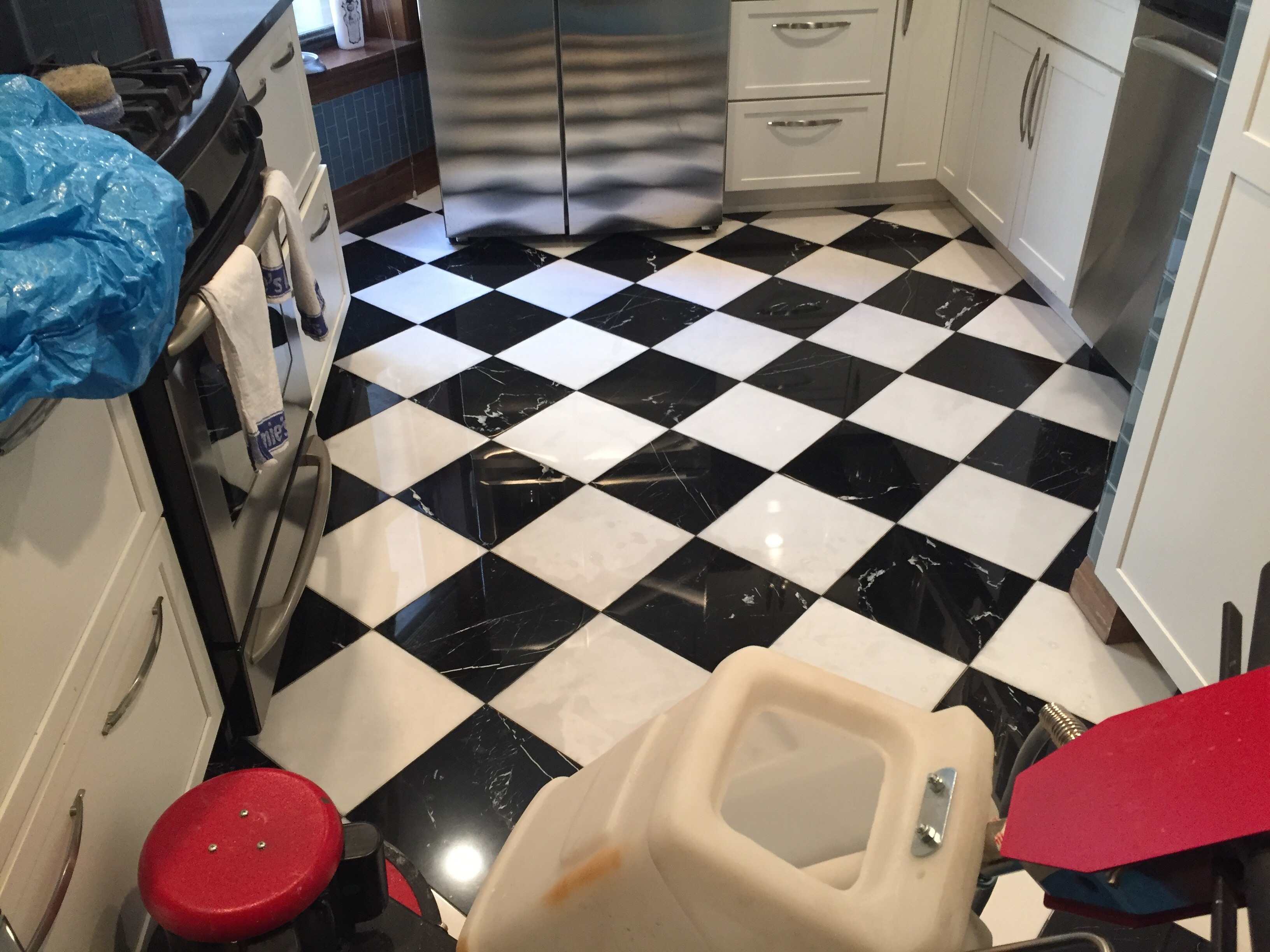 Highland Park Marble Floor Polishing Service