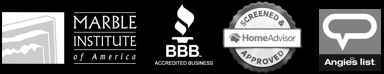Granite Heroes is an A Rated Bathtub Restoration Company with the BBB