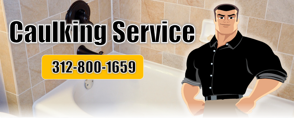 Chicago Caulking Contractors Recaulking Services - Bathroom caulking service