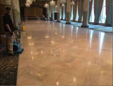 Stone Floor Restoration Chicago IL