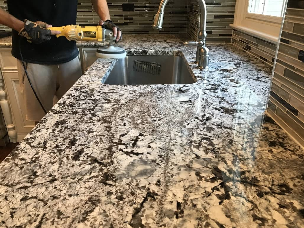 Marble Countertop Polishing Chicago IL