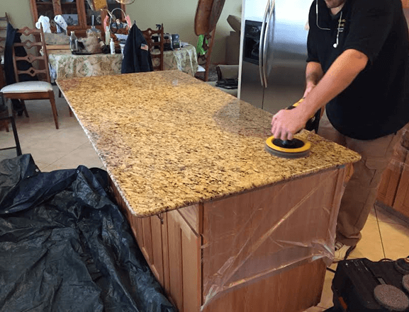 Slate Floor Restoration in Orland Park, IL 60462 | 9-28-2016