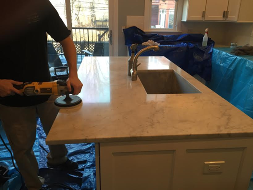 Chicago marble restoration