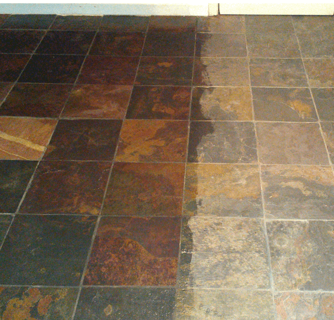 Slate Cleaning Stripping Sealing Chicago Milwaukee Nw Indiana