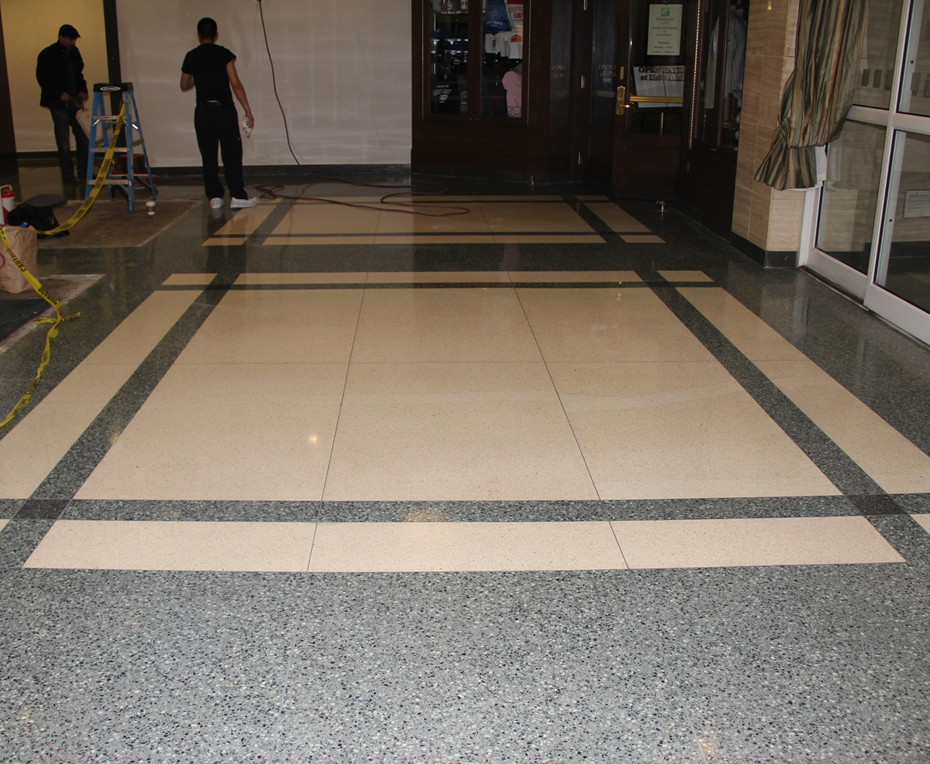 Terrazzo Cleaning Polishing Restoration In Chicago Nw