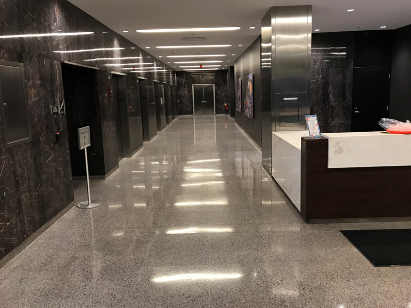 Terrazzo Resurfacing Polishing Cleaning Crack Repair